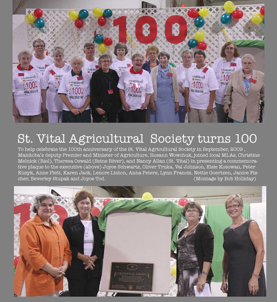 Agricultural Society Turns 100